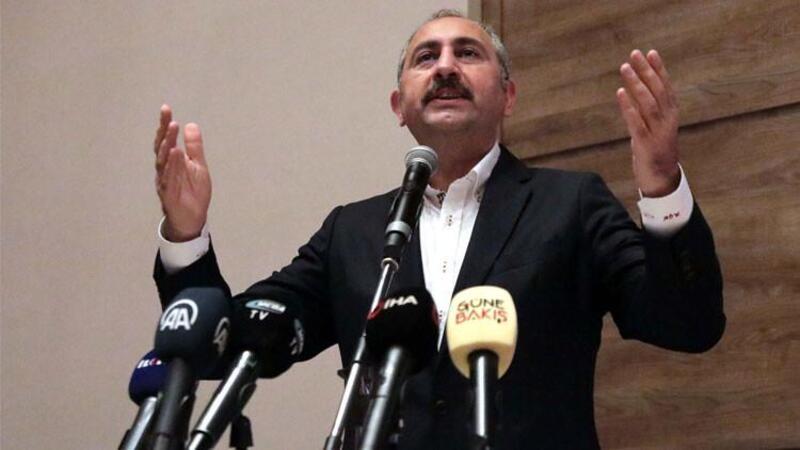 Adalet Bakanı Abdulhamit Gül, Gaziantep'te açıklamalarda bulundu