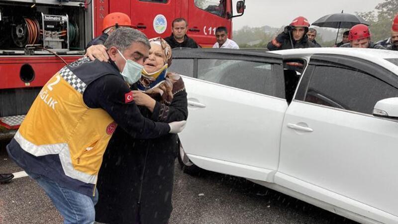 Anadolu Otoyolu'nda 15 aracın karıştığı zincirleme kaza