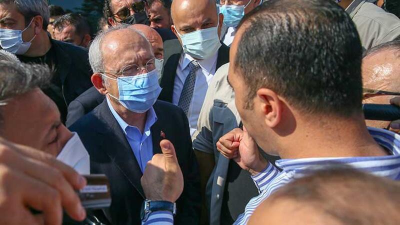 İzmir'de Kemal Kılıçdaroğlu'na protesto