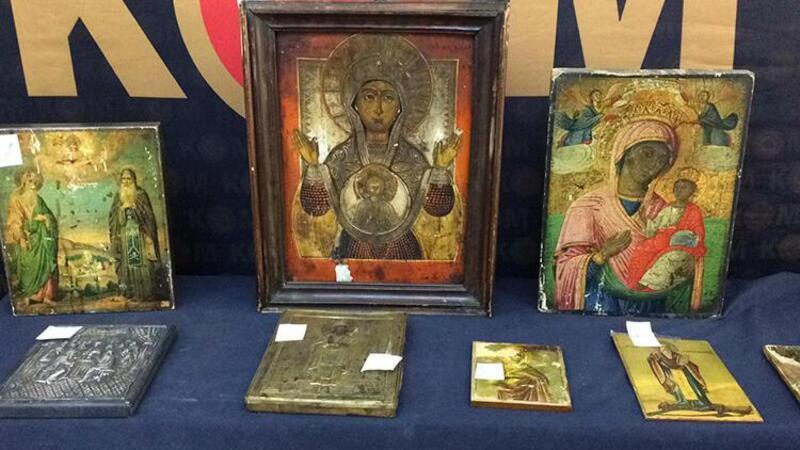 İstanbul'da ele geçirilen 278 adet tarihi eser sergilendi