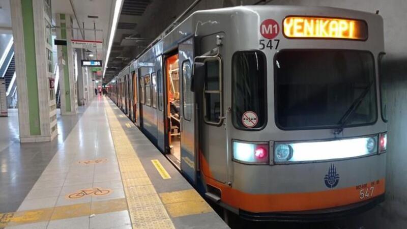 Yenikapı-Kirazlı metro hattında teknik arıza nedeniyle seferler aksadı