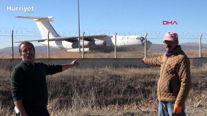 Gürcistan'ın yardım uçağı 10 yıldır Erzurum'da bekliyor
