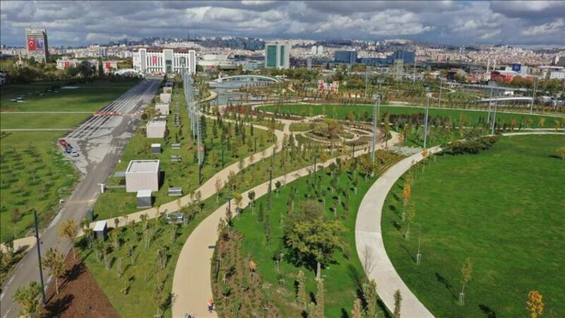 Bakan Kurum Ankara AKM Millet Bahçesi'ne davet etmişti! Yarın açılıyor