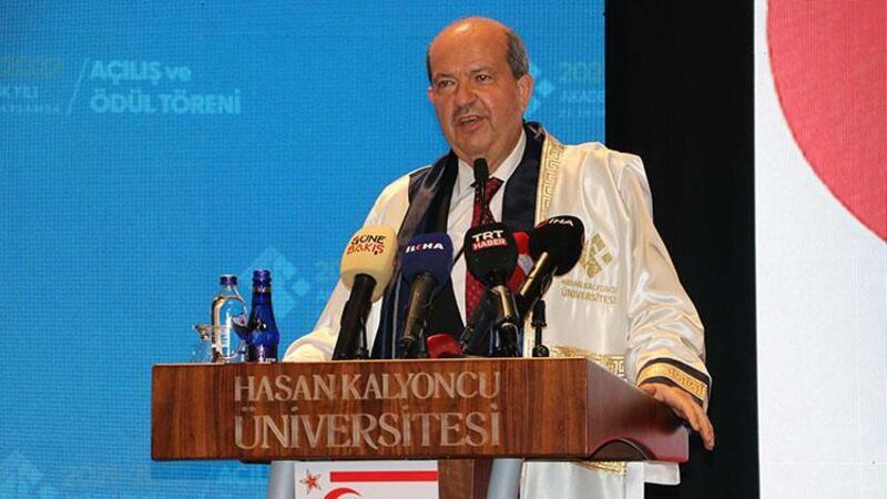 KKTC Cumhurbaşkanı Tatar: Benim yolum Türkiye yoludur