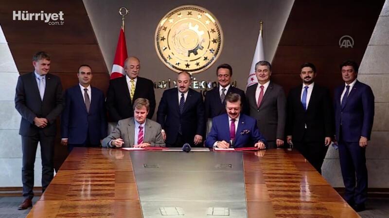 Hisarcıklıoğlu ve Kepler, yatırım planı ve teşvik başvuru dosyasını imzaladı