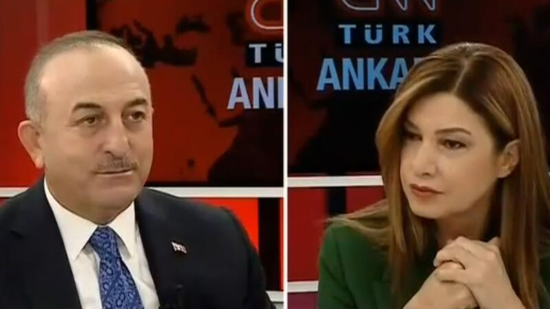 Dışişleri Bakanı Çavuşoğlu, CNN TÜRK canlı yayınında konuştu