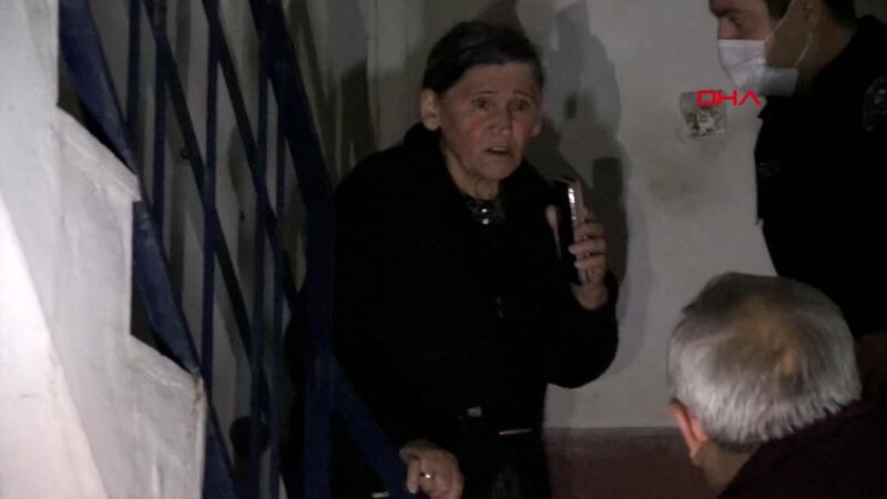 Telefonunu yanlışlıkla sessize alan yaşlı kadın ekipleri harekete geçirdi
