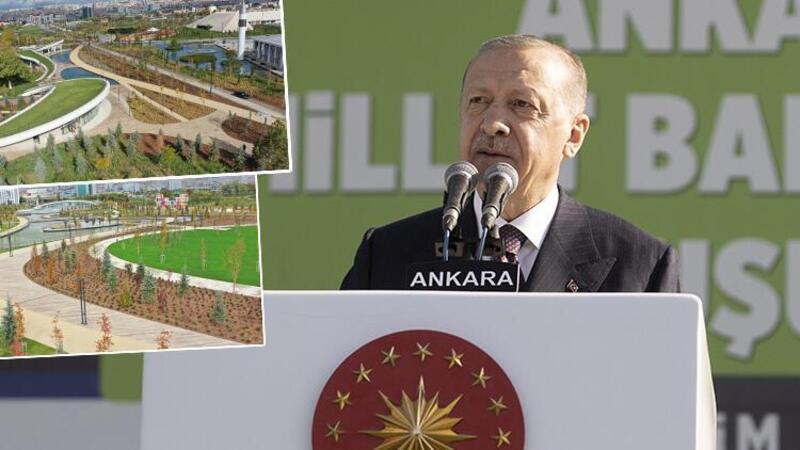 Cumhurbaşkanı Erdoğan müjdeyi duyurdu: İstanbul Atatürk Havalimanı'nda da millet bahçesi kuruyoruz