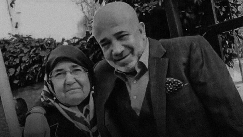 Murat Sancak'ın annesi, son yolculuğuna uğurlandı