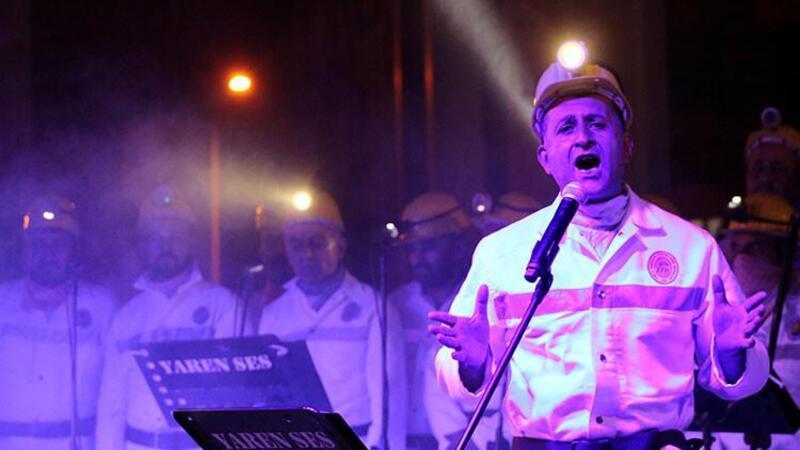 Madencilerden 29 Ekim'e özel konser