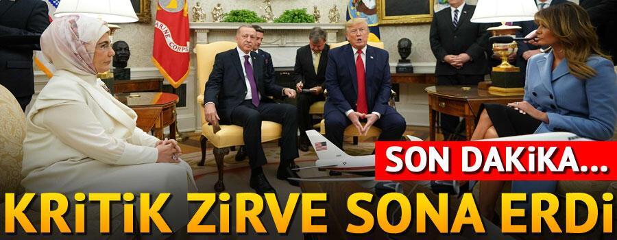 Son dakika... Cumhurbaşkanı Erdoğan, Trump ile görüşüyor