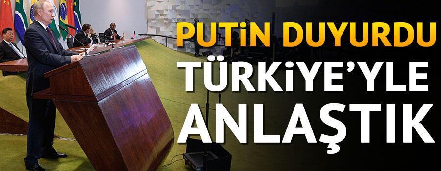 Putin duyurdu: Türkiye ile ihlallere müdahale etmek konusunda anlaştık