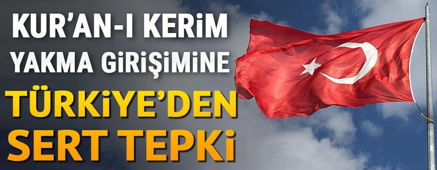 Son dakika... Dışişlerinden Norveçte Kuran-ı Kerim yakma girişimine sert tepki