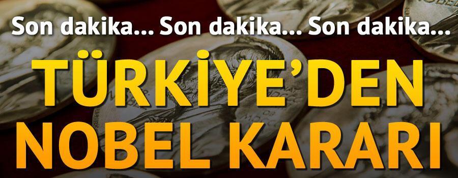 Son dakika: Türkiyenin Stockholm Büyükelçisi Yunt Nobel Ödül Törenine katılmayacak