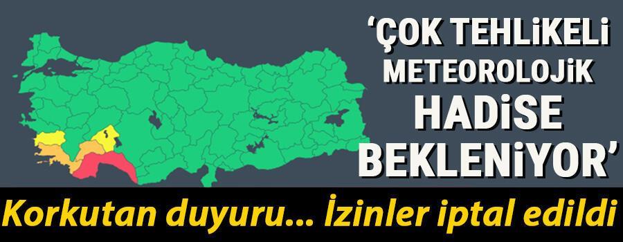 Son dakika... Antalya için korkutan duyuru: Çok tehlikeli meteorolojik hadise bekleniyor