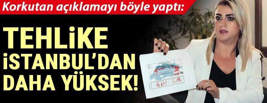 Son dakika haberi… Korkutan açıklama: Tehlike İstanbul'dan daha yüksek…