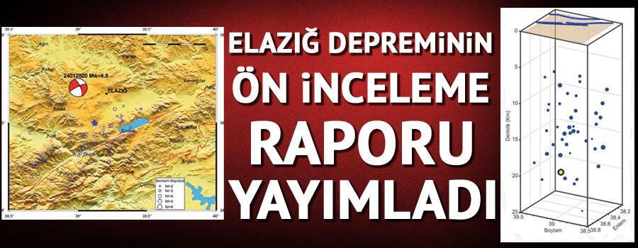 Son dakika...İstanbul Üniversitesi Cerrahpaşa Rektörlüğü, Elazığ depremi ön inceleme raporu yayımladı