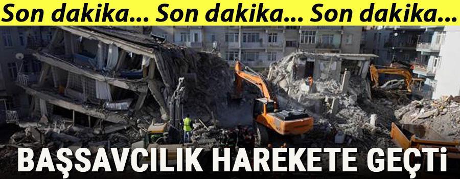 Son dakika haberler... Depremde yıkılan binalara iki ayrı soruşturma