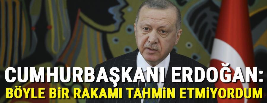 Son dakika haberler... Cumhurbaşkanı Erdoğandan Trumpın planına tepki