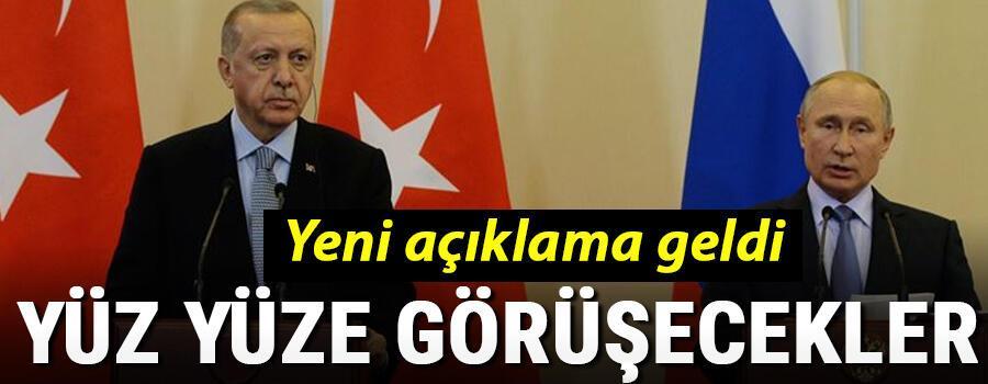 Son dakika Cumhurbaşkanı Erdoğan ve Putin görüştü