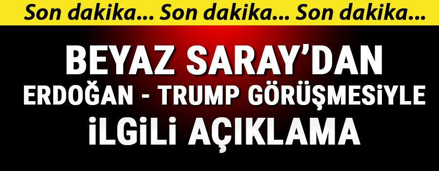 Son dakika... Cumhurbaşkanı Erdoğan ve Trump görüştü