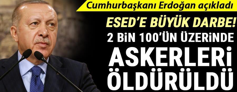 Son dakika... Cumhurbaşkanı Erdoğan: Suriye meselesi Türkiye için macera değildir