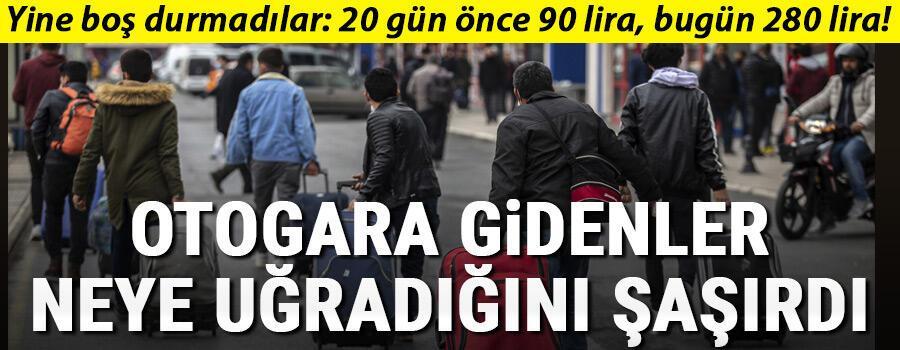 İstanbul Valisi Yerlikaya: Saat 17.00 itibariyle otobüsle şehir dışına çıkışlar durduruldu Otogara gidenler fiyatları görünce şoka uğradı
