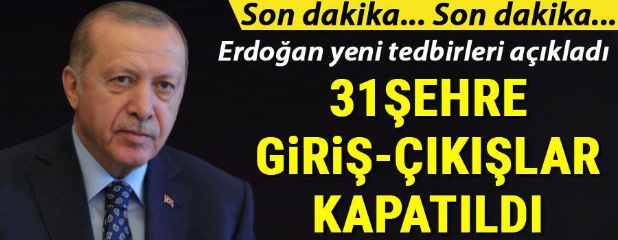 Son dakika haberi: Cumhurbaşkanı Erdoğan açıklama yapacak