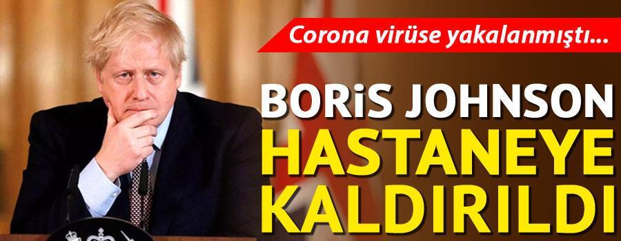 Son dakika haberi: Corona virüse yakalanan İngiltere Başbakanı Johnson hastaneye kaldırıldı