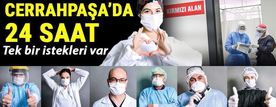 Son dakika haberi: Acil servise girdik... İşte Cerrahpaşanın koronavirüs savaşçıları