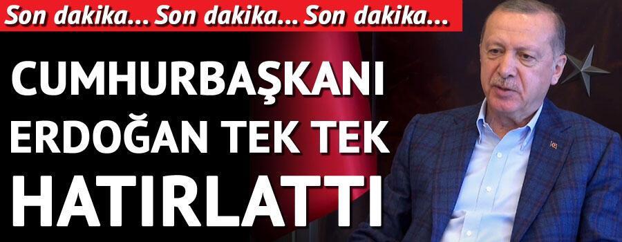 Son dakika haberler... Cumhurbaşkanı Erdoğan: Attığımız adımlar doğru yolda ilerlediğimizi gösteriyor