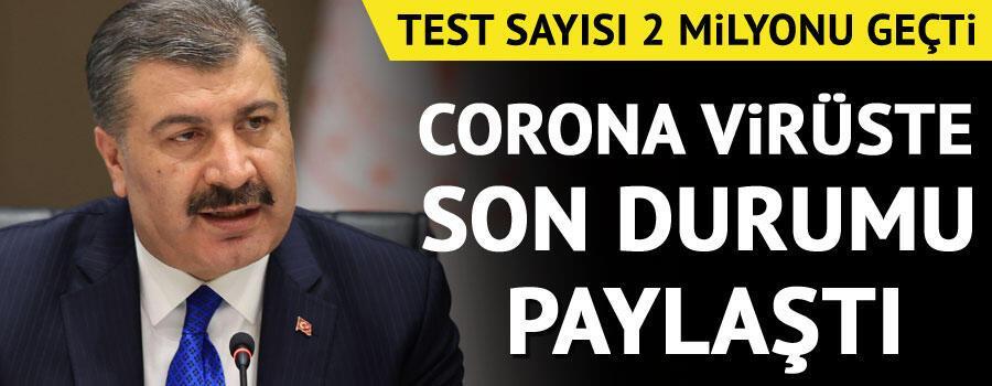 Son dakika haberi: Sağlık Bakanı Fahrettin Koca tarafından corona virüsü 30 Mayıs son durum tablosu açıklandı