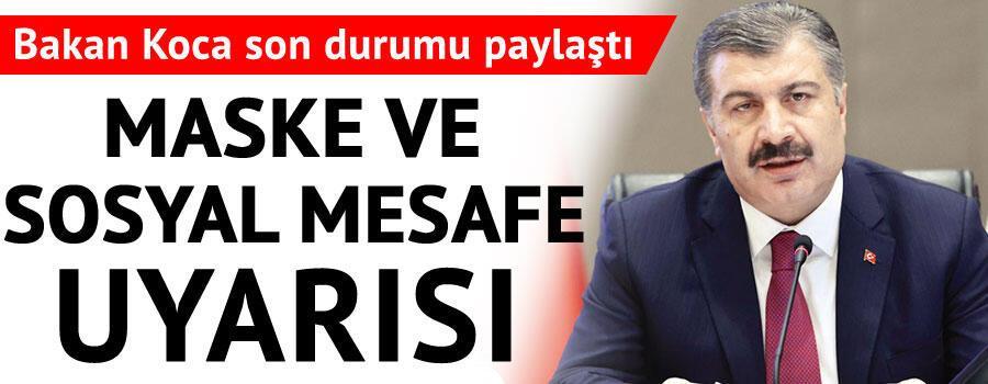 Son dakika haberi: Sağlık Bakanı Fahrettin Koca tarafından corona virüsü 2 Haziran son durum tablosu açıklandı