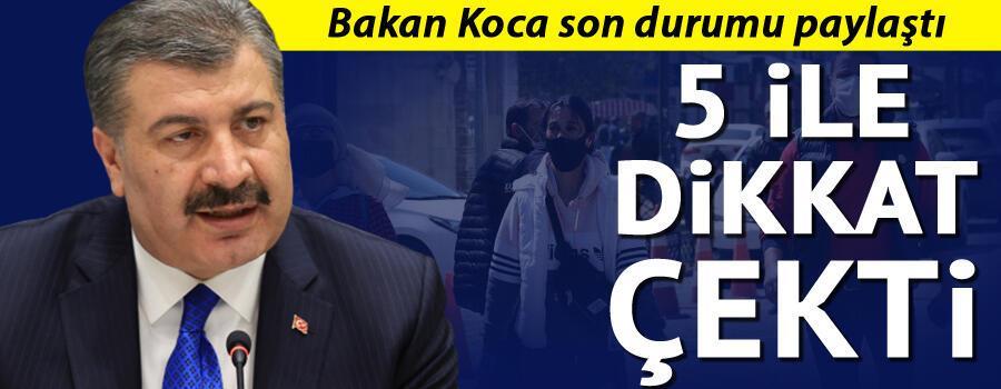 Son dakika haberi: 7 Temmuz korona tablosu ve vaka sayısı Sağlık Bakanı Fahrettin Koca tarafından açıklandı