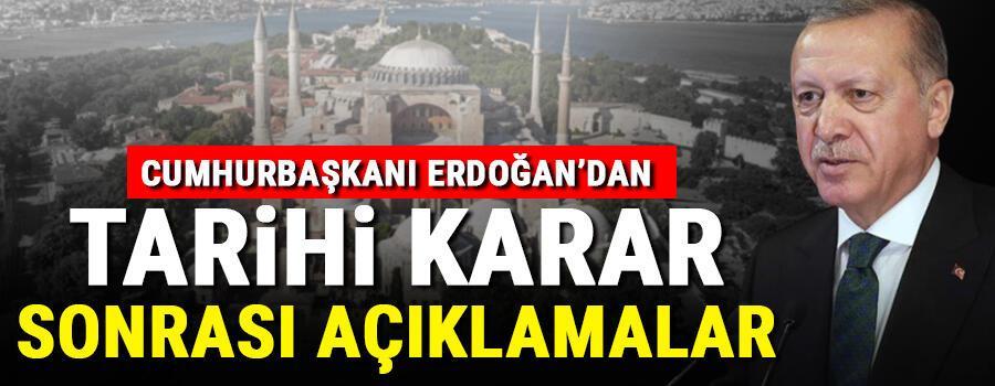 Son dakika haberi: Cumhurbaşkanı Erdoğan, Millete Sesleniş konuşması yapıyor