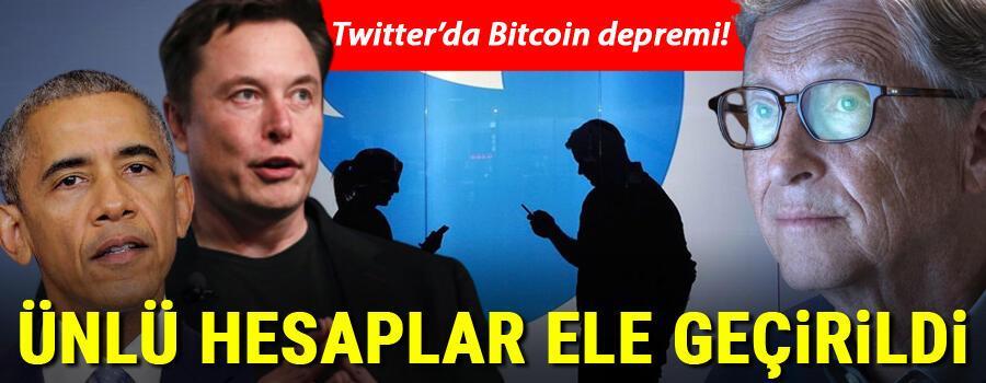 Son dakika haberi: Twitterda Bitcoin depremi Ünlü hesaplar ele geçirildi