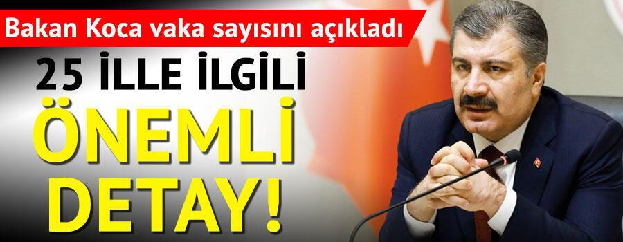 Son dakika haberi: 9 Ağustos korona tablosu ve vaka sayısı Sağlık Bakanı Fahrettin Koca tarafından açıklandı