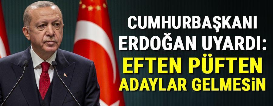 Son dakika haberler: AK Parti'de 'okullar açılsın' talebi... Erdoğandan uyarı: Eften püften adaylar gelmesin