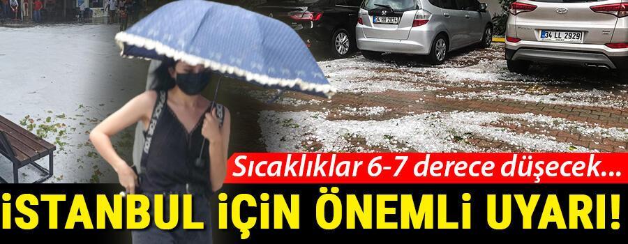 Son dakika haberi: İstanbulda dolu yağışı Bünyamin Sürmeli uyardı: Tekrar gelecek