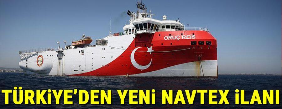 Son dakika haberi: Türkiyeden Doğu Akdenizden yeni NAVTEX ilanı