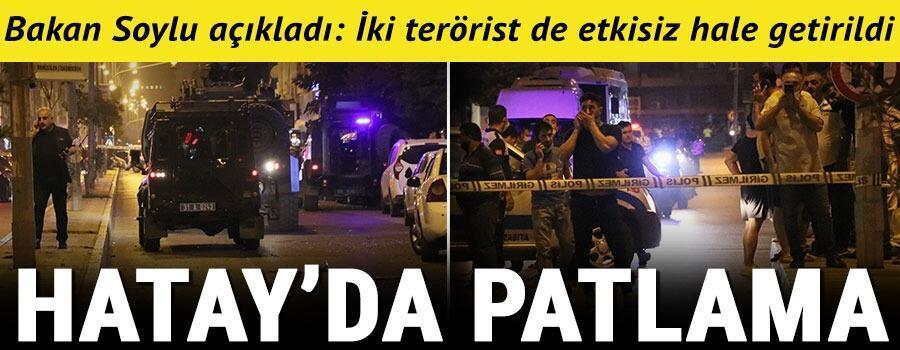 Son dakika haberi: Hatayın İskenderun ilçesinde patlama Çok sayıda polis ve sağlık ekibi bölgede
