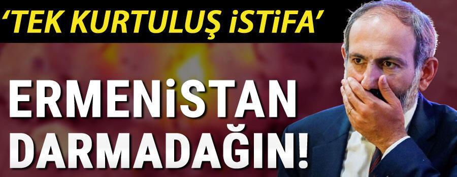 Son dakika haberler... Ermenistan darmadağın... Paşinyana bir tepki de ondan geldi