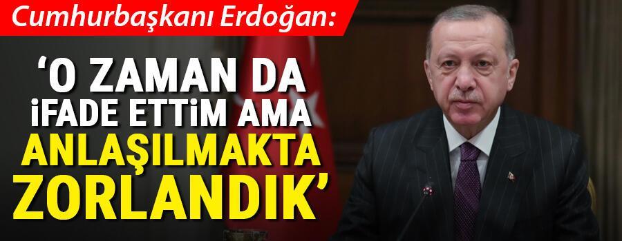 Son dakika... Cumhurbaşkanı Erdoğandan 5G açıklaması: O zaman da ifade ettim ama...