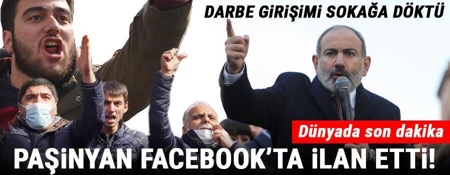 Son dakika haberi: Ermenistan yangın yeri... Paşinyan konuştu: Teslim olmayacağız