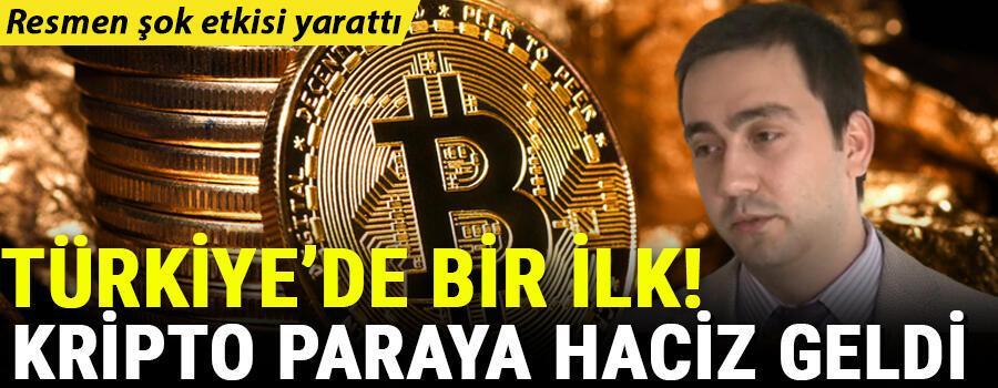 Şok etkisi yarattı... Türkiye'de bir ilk Kripto paraya haciz geldi