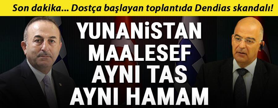 Son dakika haberi: Yunan Dışişleri Bakanı Ankarada Bakan Çavuşoğlundan önemli açıklamalar