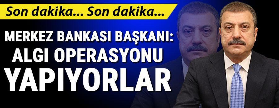 Son dakika: Merkez Bankası Başkanı Kavcıoğlundan önemli açıklamalar