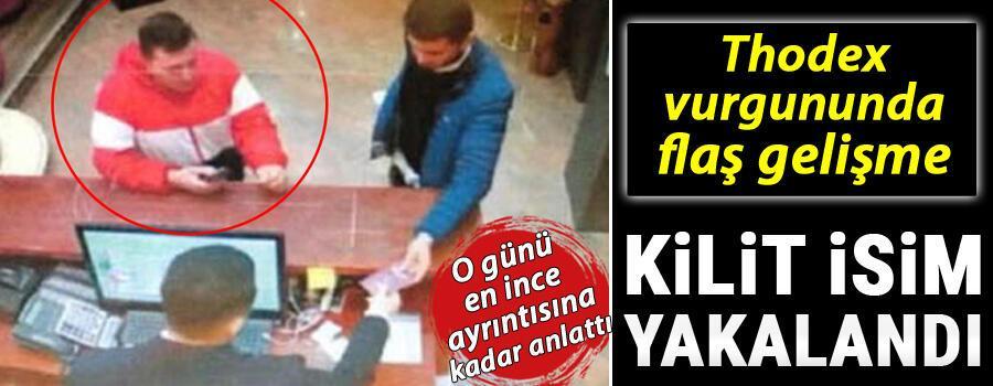 Thodex'in kurucusu Faruk Fatih Özere yardım eden kişi yakalandı