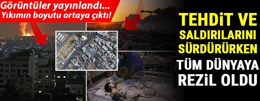 Son dakika haberi: İsrail Gazzeye kara harekâtı skandalı Filistinde siviller katledilirken dünya sadece izliyor