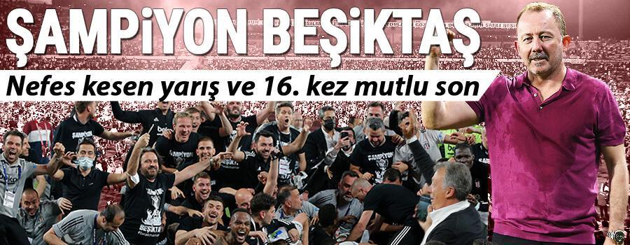 Son Dakika: Süper Ligde şampiyon Beşiktaş Göztepe 2 golle kaybetti